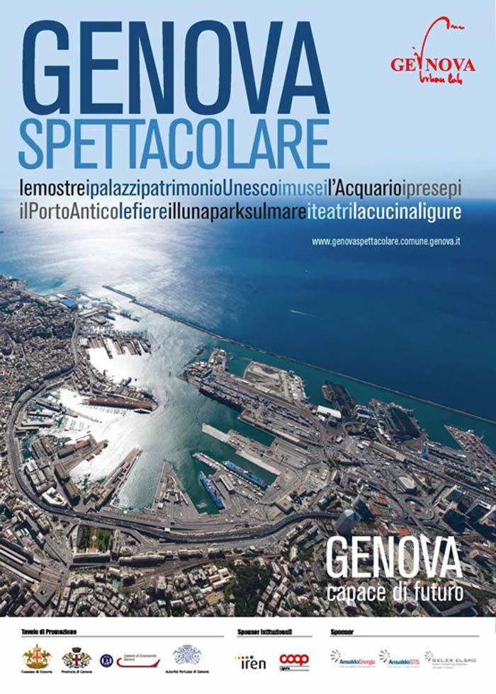 Genova, fotografia aerea
