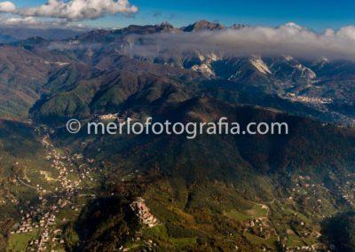 sfondo Alpi Apuane